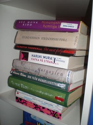 Olästa böcker