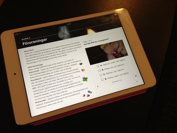 Interaktiv kemibok om blandningar