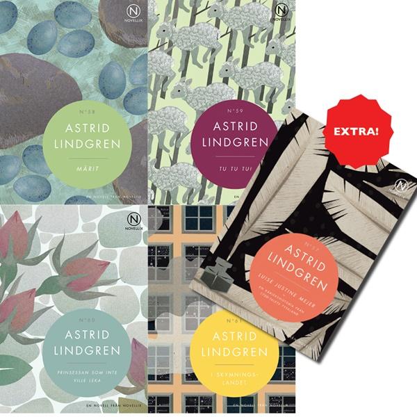 Astrid Lindgren-noveller från Novellix
