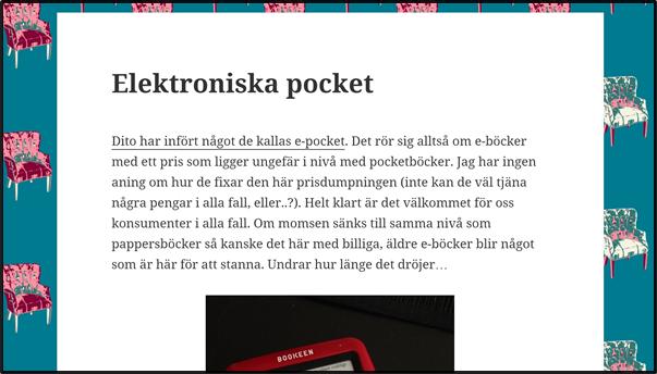 Nostalgitorsdag - Elektroniska pocket