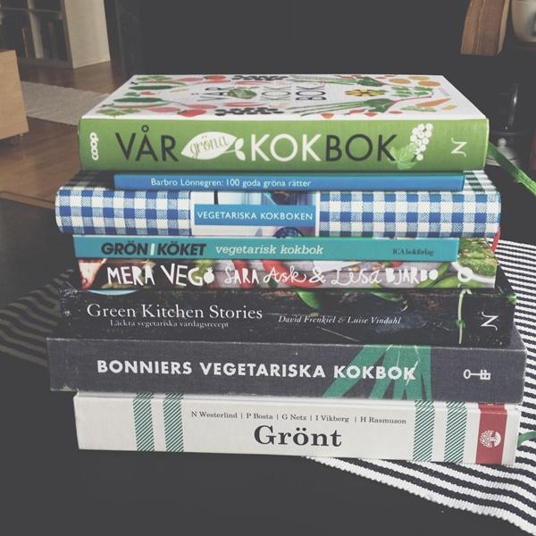 Vegetariska kokböcker